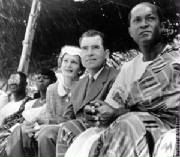 Gbedemah (an Ewe) & The Nixons on Ghana's Independence Day on 6th March 1957